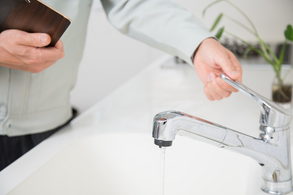 Testing faucet